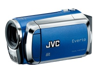 JVC Everio Digital Camcorder - Blue