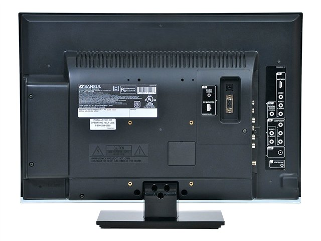 "Sansui 19"" Widescreen LED/DVD Player Combo 1080p HDTV"