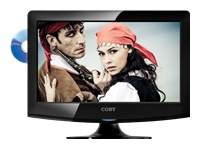 "Coby 15"" LED High-Definition TV with DVD Player"
