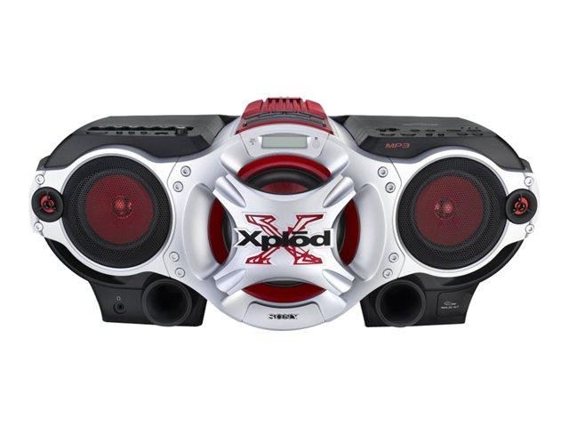Sony CD Radio Cassette Recorder - CFDG700CP