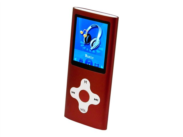 Mach Speed Eclipse 180 4GB 1.8 in. LCD Screen Media Player - Red