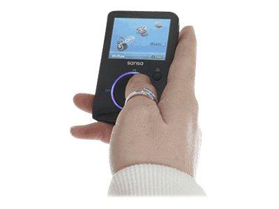 SanDisk 4GB Sansa Fuze MP3 Player / Black