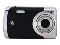 GE Cameras GE CRE00 Create by Jason Wu 12MP Digital Camera with 3x Optical Zoom and 2.7 Inch LCD Black Metal
