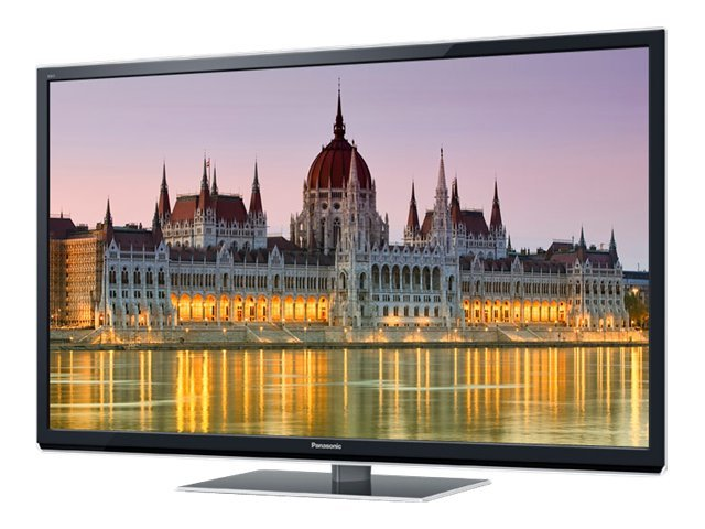 "Panasonic (Refurbished) Smart Viera® 60"" ST50 Series Full HD 3D Plasma HDTV"
