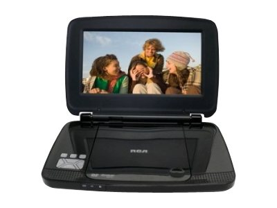 "RCA Portable DVD Player w/ 9"" LCD Display, Travel Kit"
