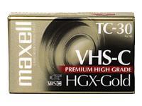 Maxell VHS-c Videotape, 2 pk.