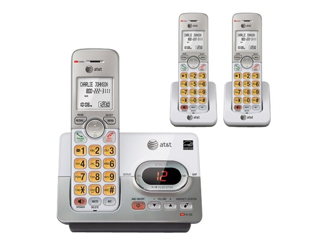 AT&T 3 Handset Answering System w/ Caller ID, Call Waiting EL52303