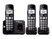Panasonic Expandable Digital Cordless Answering System w/ 3 Handsets - KX-TGE233B