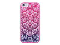 Agent 18 ShockSlim Case for iPhone 5c - Scallops