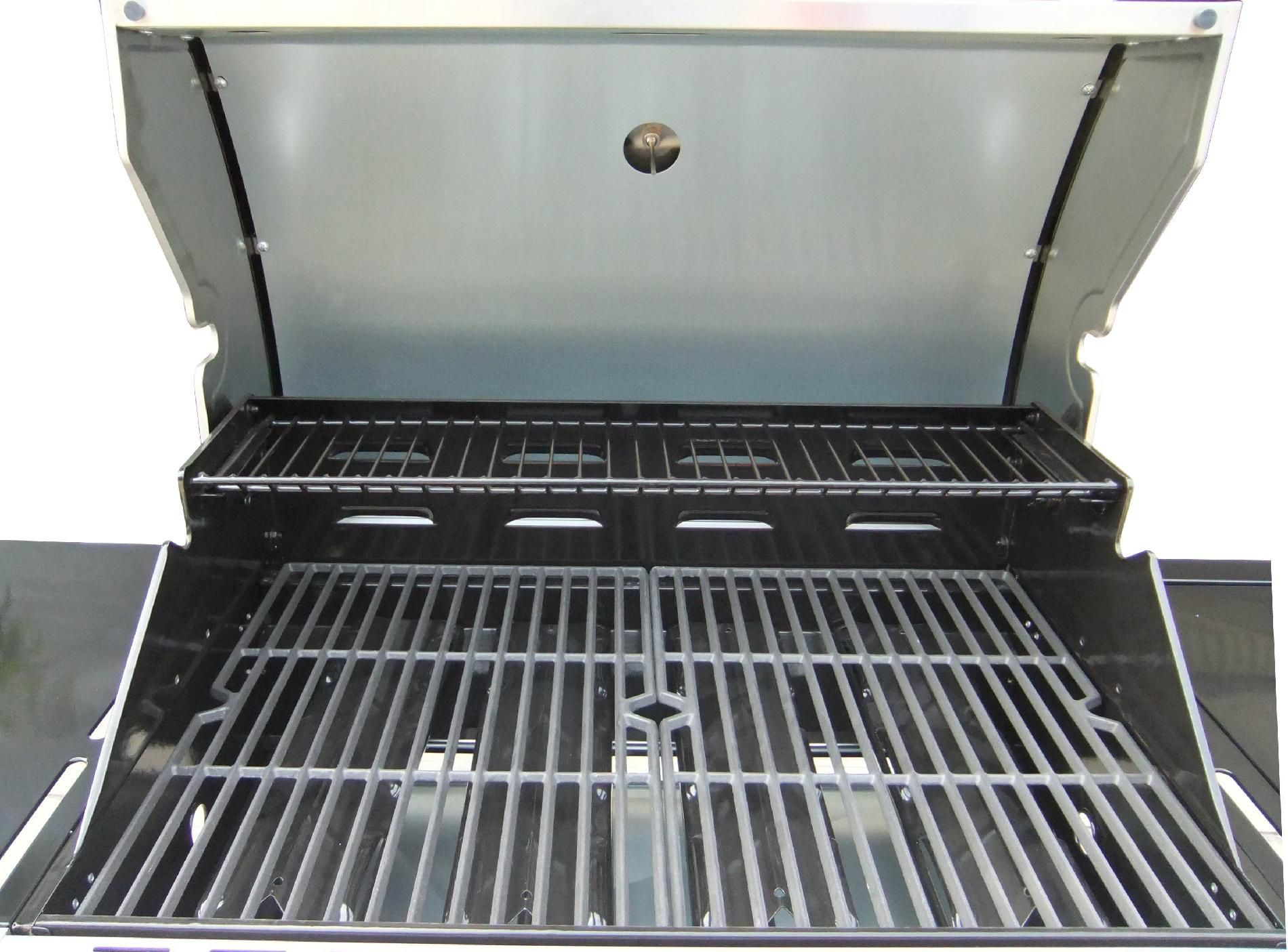 071016142000 Kenmore 4-Burner Stainless Steel Gas Grill